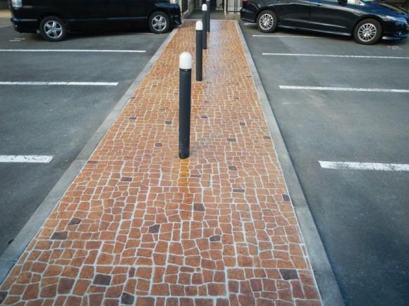 アパート駐車場